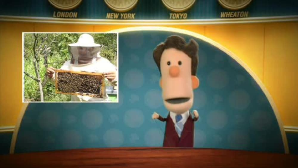 Have you ever touched a beehive?