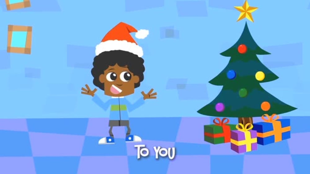 Its christmastime   yancy and friends