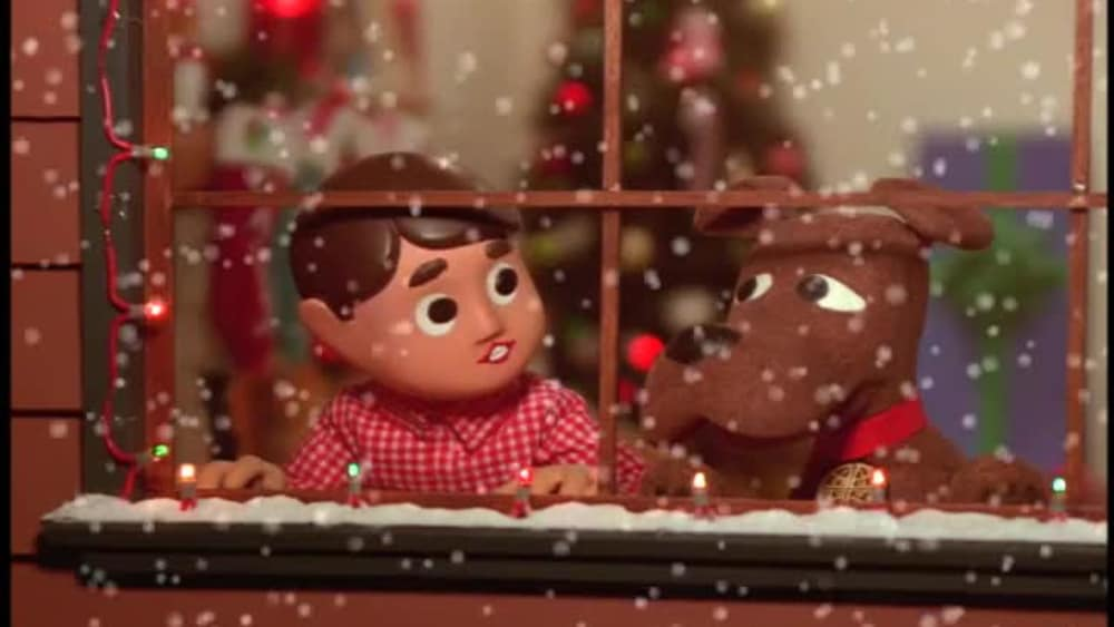 Snowboard Christmas - Davey and Goliath Holiday Specials