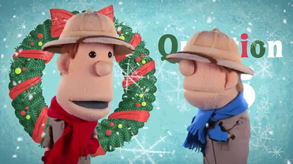Question 6 santas hat   12 questions of christmas