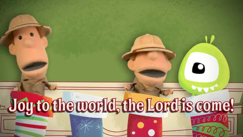 Joy to the world   jellytelly stocking sing along