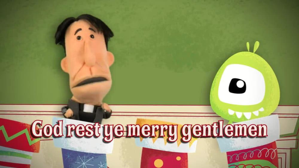 God rest ye merry gentlemen   jellytelly stocking sing along