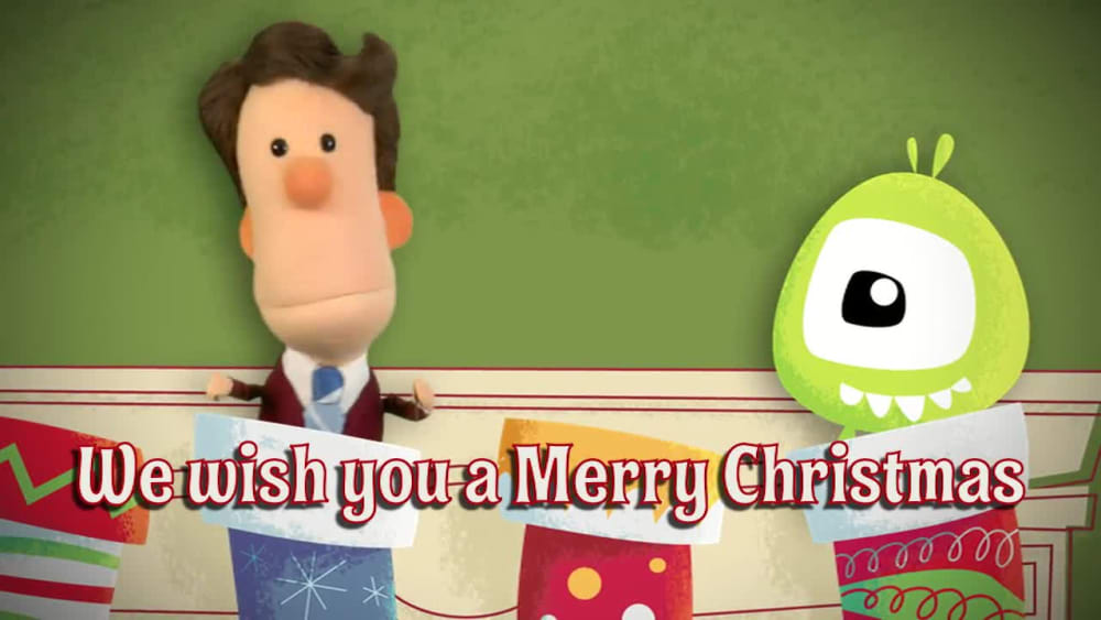 We Wish You a Merry Christmas - JellyTelly Stocking Sing-Alongs
