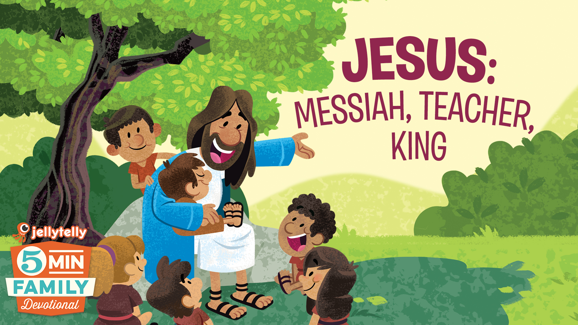 jellytelly u2013 jesus messiah teacher king 5 minute family
