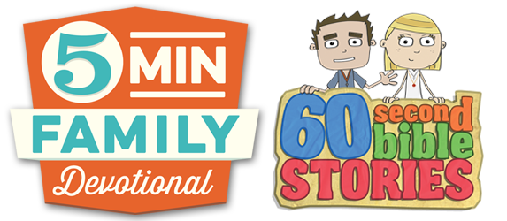 60 Second Bible Stories - 5 Minute Family Devotional