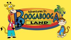 Booga booga logo yellow