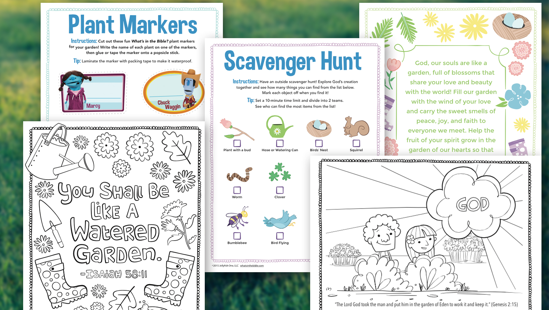 Free Family Gardening Activity Pack