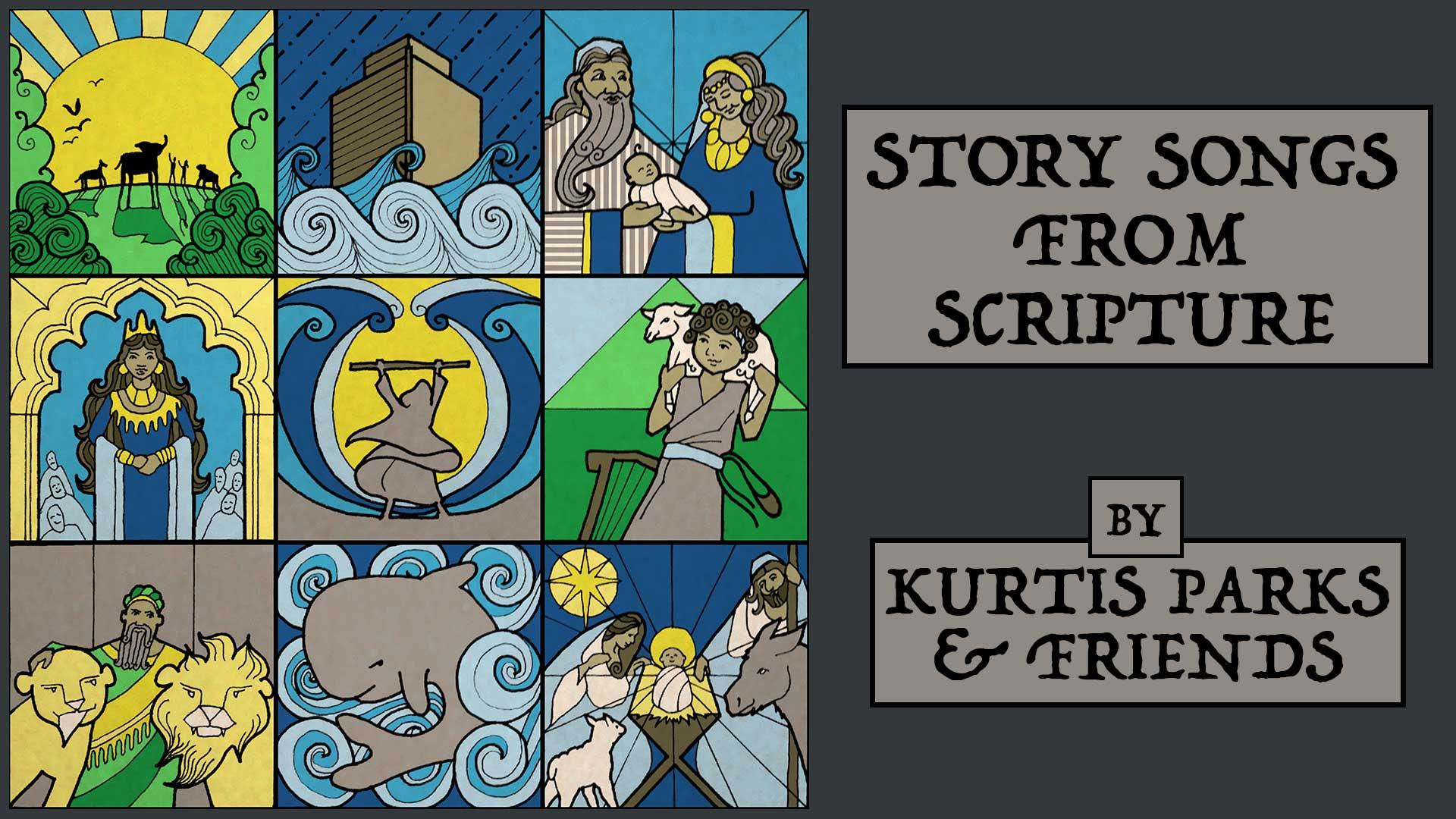 Story songs series logo