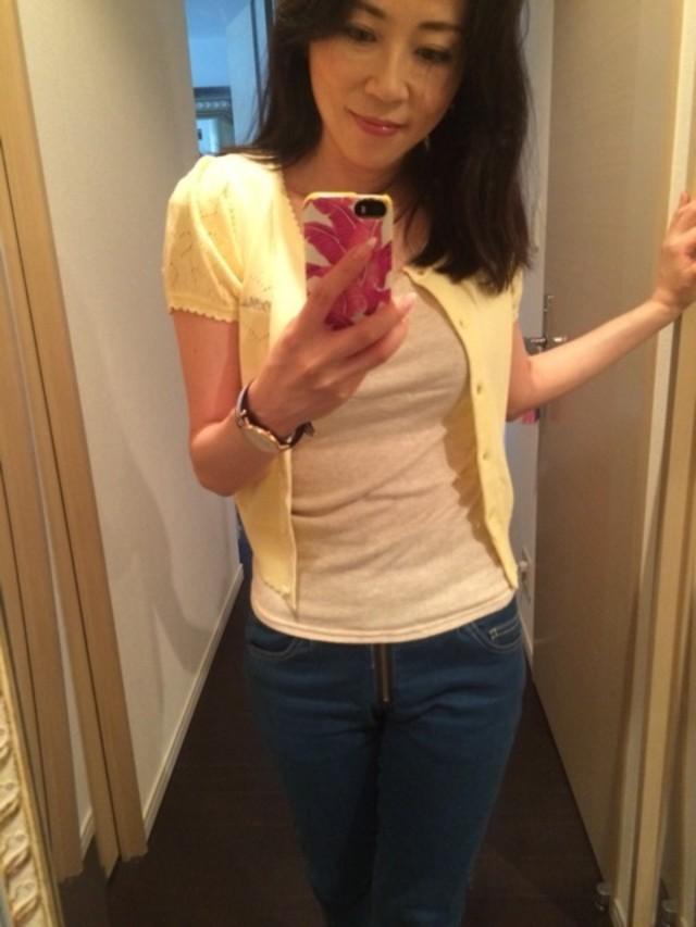 Tシャツ&デニムのシンプルコーデ♡
