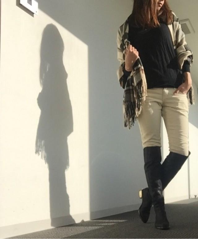 コンサバ カジュアル シンプル セレブ 大人 モード パンツ