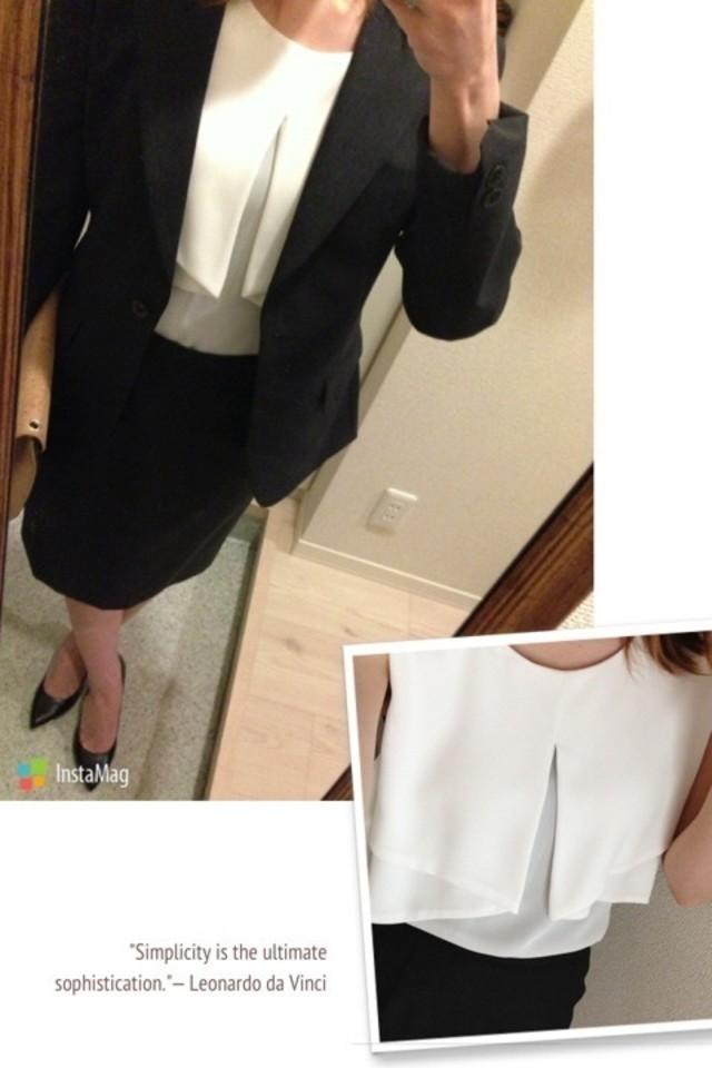 春のスーツスタイル♡