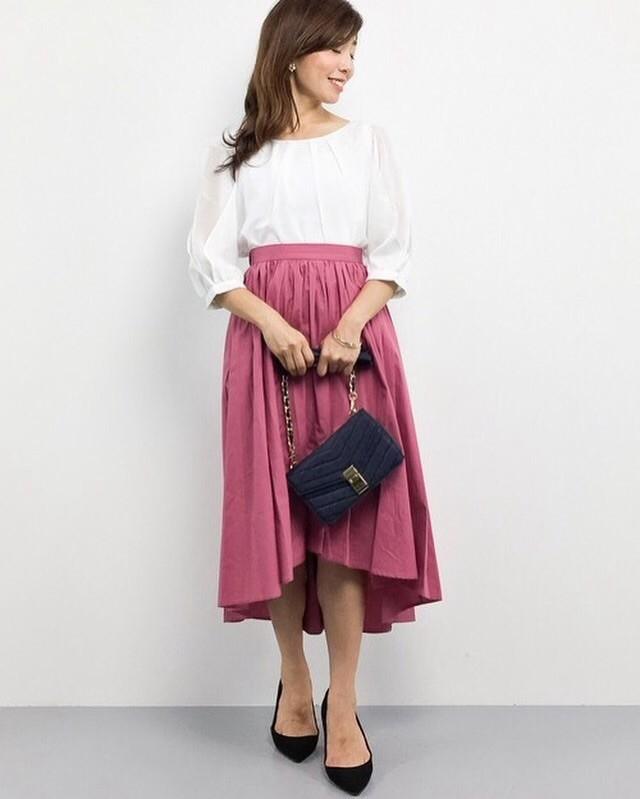 1着あると便利♪ きれい色ゆるふわスカート