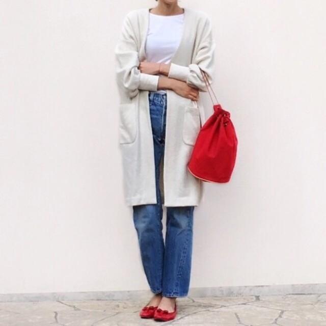 ナチュラルな雰囲気&軽さが魅力の巾着バッグ!