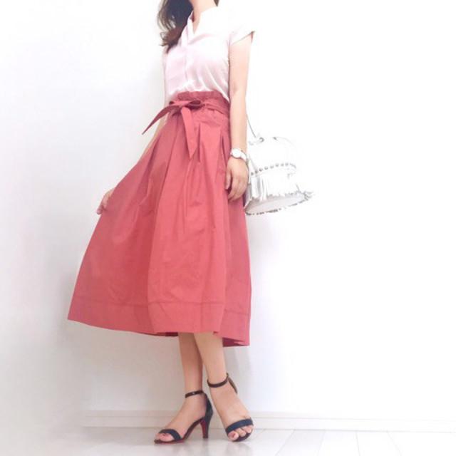 今季の最注目! カラースカート