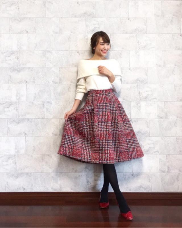 【Spring/チェック柄スカートは可愛らしく攻略】