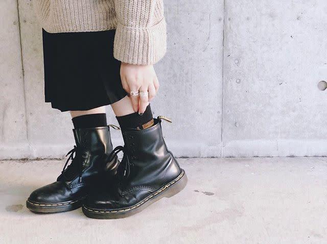 3. Dr.Martens(ドクターマーチン)のブーツ