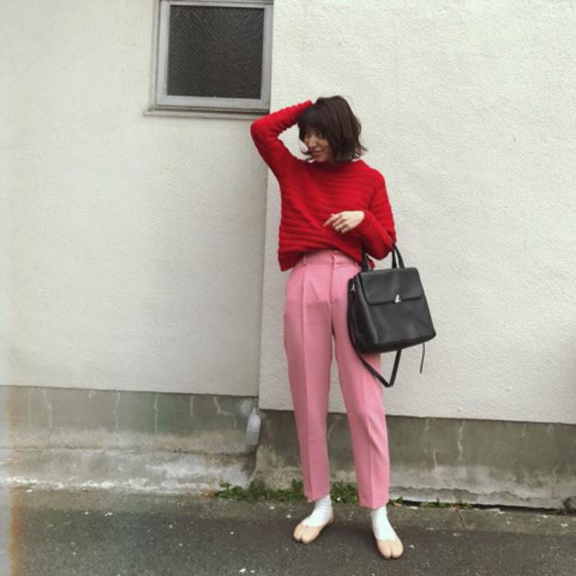 4. レッド×ピンク