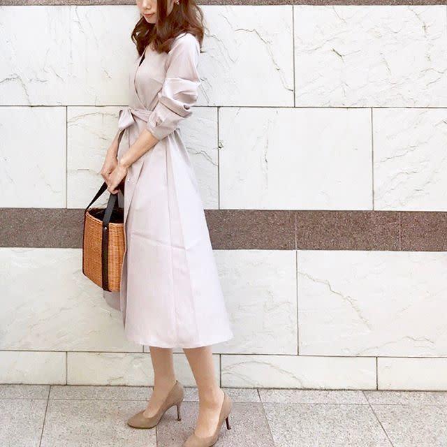 品よくキマるフレアスカート
