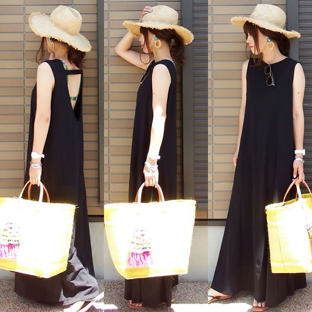 【ママのお出かけバッグ/ 04】収納力抜群! 大容量のマチ付きバッグ