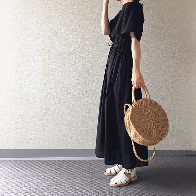 夏の大定番「かごバッグ」でナチュラル&今っぽさを加える