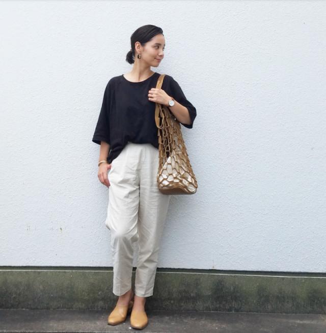 【ショートカット#CBKモデルに学ぶオフィス向けの服装/01】フロントインでこなれ感を演出