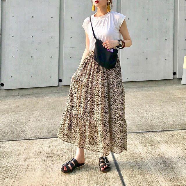 おしゃれ上級者に♡ 「レオパード柄スカート」