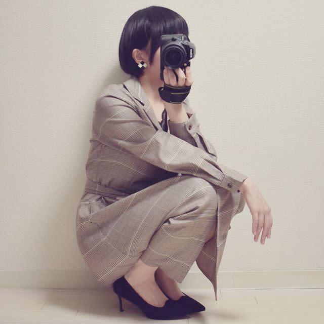 1枚で写真映えする女優ワンピース