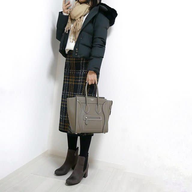 【スカートスタイル】スタイルアップにはショート丈のジャケットが効果的!
