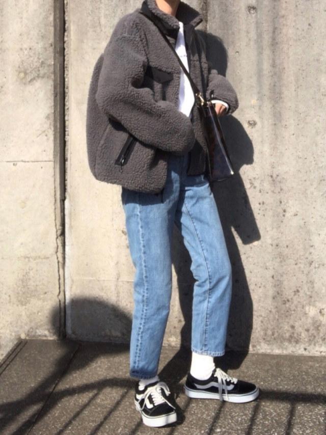 【冬のイベント:女友達との忘年会向けコーデ】あったかコーデで終電後も安心!