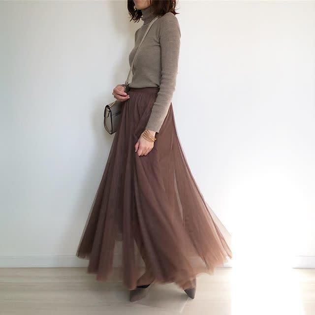 2020年2月の知っておきたいファッション用語/01【チュール素材】
