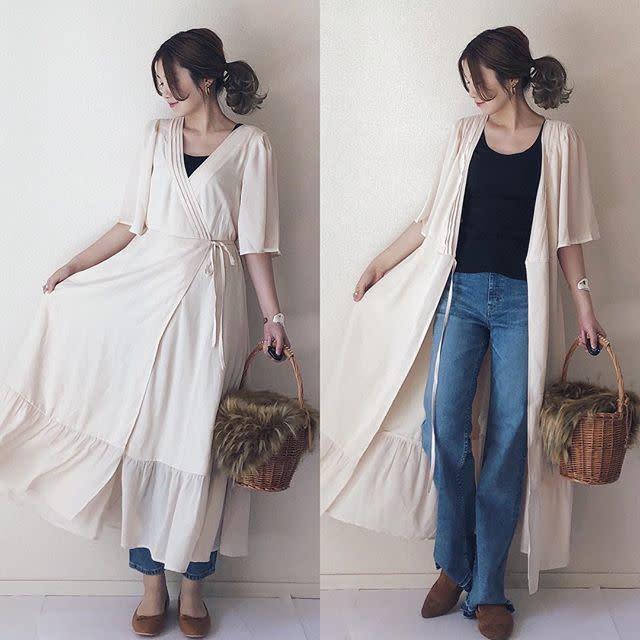 2020年2月の知っておきたいファッション用語/02【カシュクール】