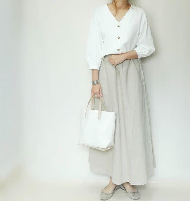 旬のリネン素材スカートをプチプラでGET!