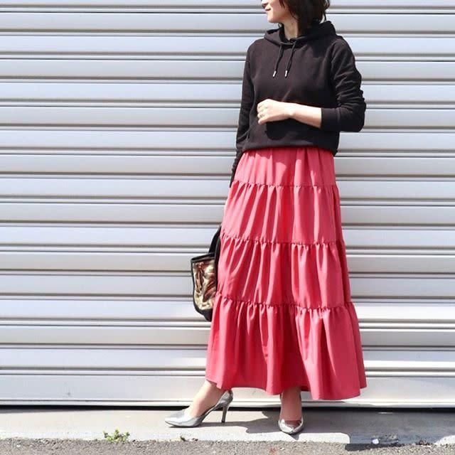 あえて「ピンク」をカジュアルに着られるのも40代の特権です!