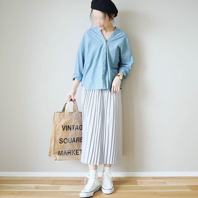旬のプリーツスカートがChaco closet(チャコクローゼット)ならプチプラで手に入る♪