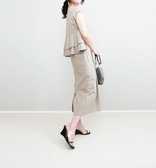 《保護者会用のママの服装》技ありワンピースで周りに差をつけて