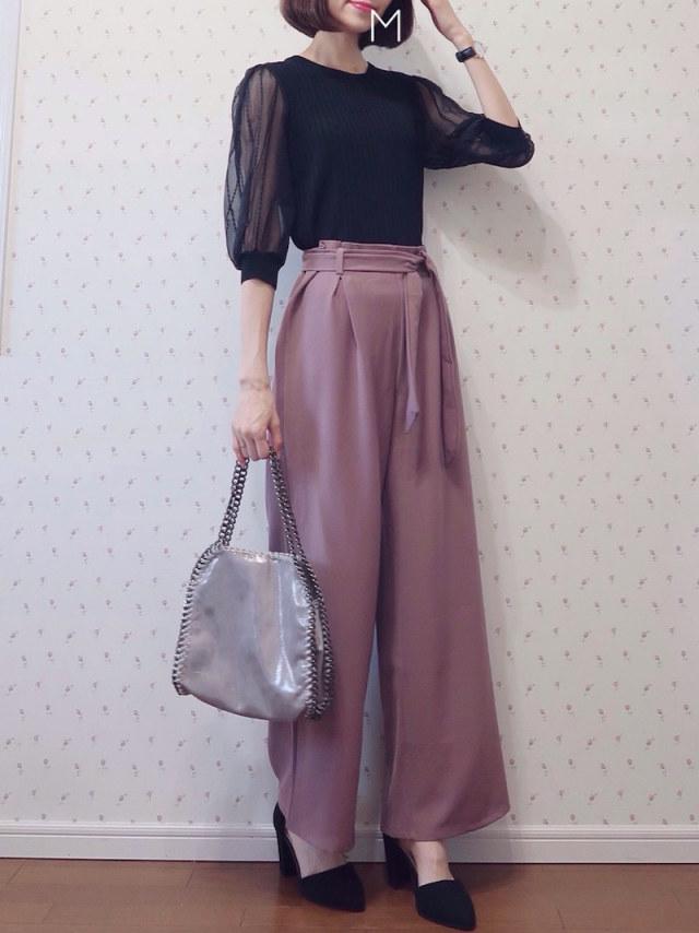 1:きれい色パンツ
