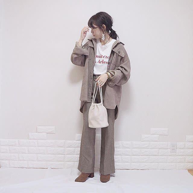 1:【ブラウンのブーツ】
