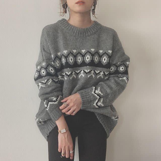 2019年12月の知っておきたいファッション用語/03【ノルディック柄】