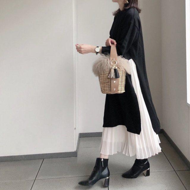 冬用カゴバッグを手に入れるなら、ゴージャスな「ファーデザイン」を♪