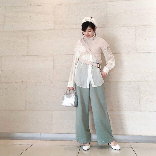 2020年3月のレディースファッショントレンド/01【シアー】