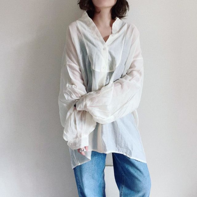 【シアー素材】エアリーな透け感が魅力♡