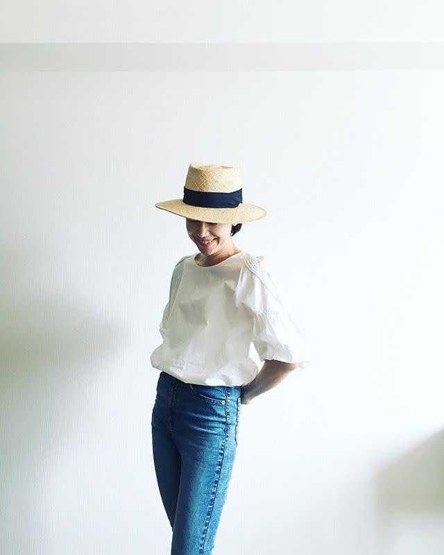 2020年6月のレディースファッショントレンド/02【カンカン帽】