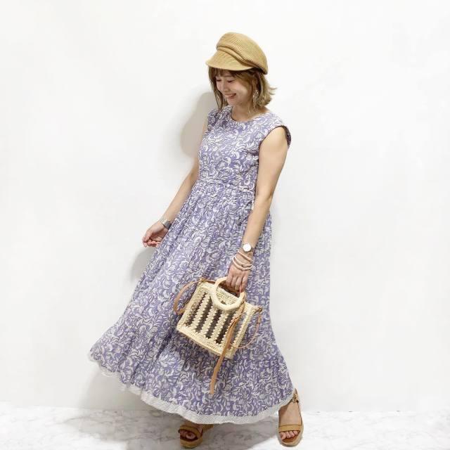 2020年9月のレディースファッショントレンド/03【ペイズリー】