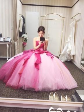 2fcfeb8eca84a ウエディングドレス 花嫁ドレス 結婚式 二次会のコーディネート一覧 ...