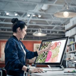 Kreativ und leistungsstark: Die Microsoft-Surface-Family