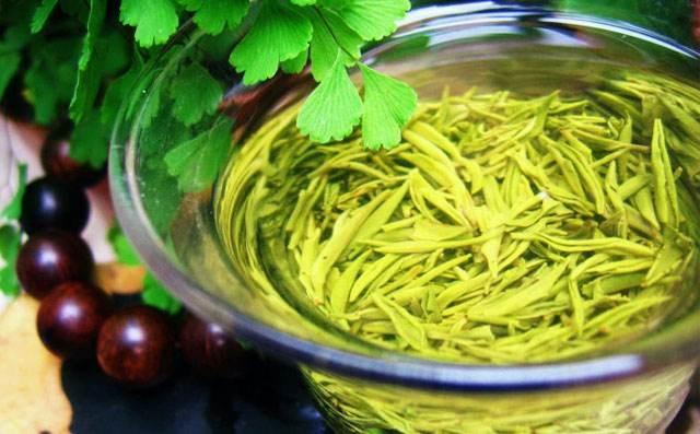 中国の緑茶