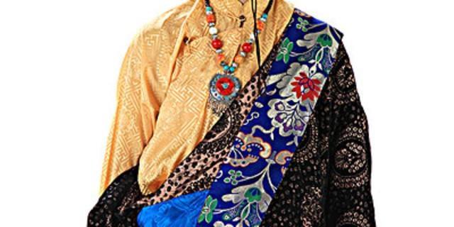 中国のチベット民族衣装