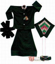 中国のアチャン民族衣装