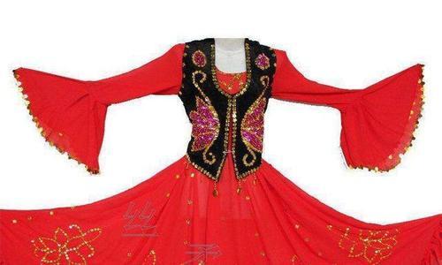 中国のウイグル民族衣装