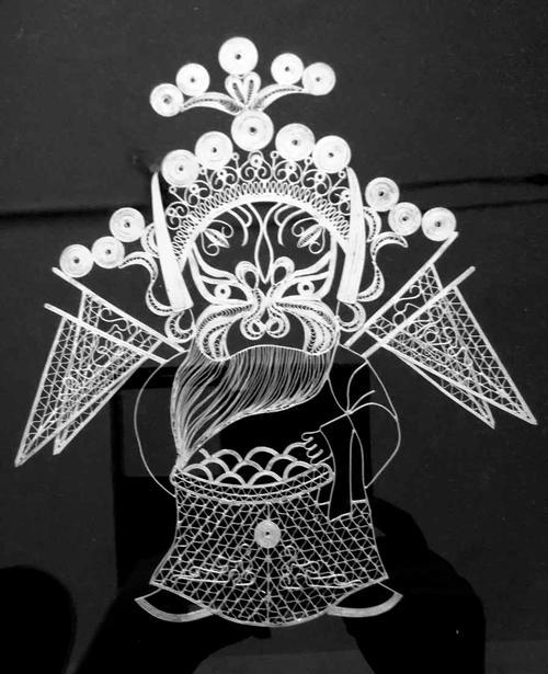 中国の銀工芸品
